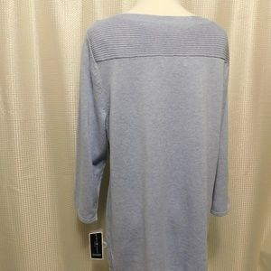 6ef75a452db12 Karen Scott Sweaters - Karen Scott Plus Size Cotton Boat-Neck Sweater